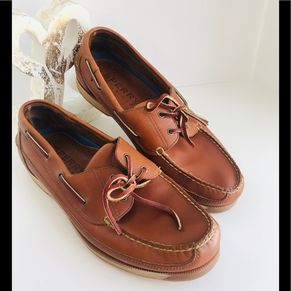 Sperry Shoes | Mens Top Sider Leather